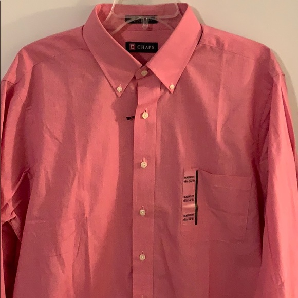 aaa2ae44 Chaps Shirts | Long Sleeve Button Down Shirt Size 16 12 | Poshmark
